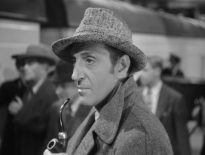 "Бэзил Рэтбоун. ""Шерлок Холмс: Ночной террор"" (1946)/Sherlock Holmes: Terror by Night (1946).  США"