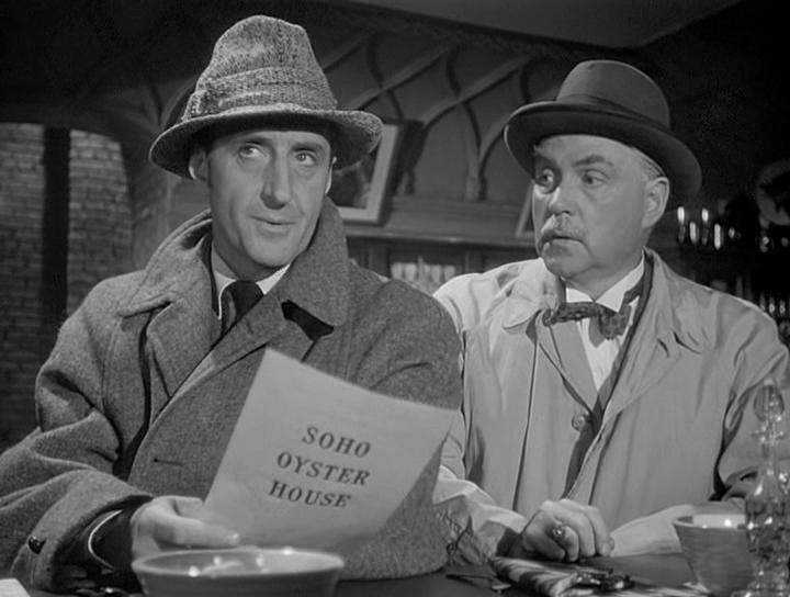 "Бэзил Рэтбоун. ""Шерлок Холмс: Погоня в Алжире"" (1945)/Sherlock Holmes: Pursuit to Algiers (1945). США"