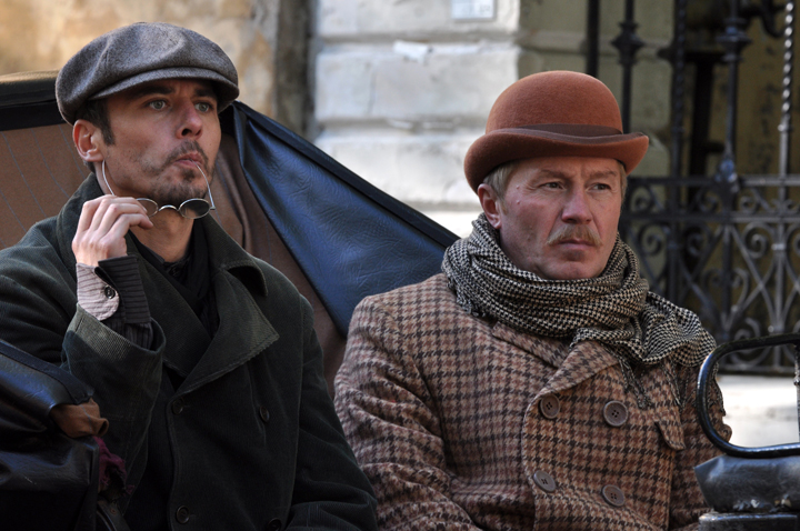 """Кадр из сериала """"Шерлок Холмс"""" (2013)"""