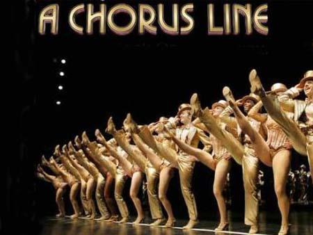 """Мюзикл """"A Chorus Line"""" (""""Кордебалет"""")."""