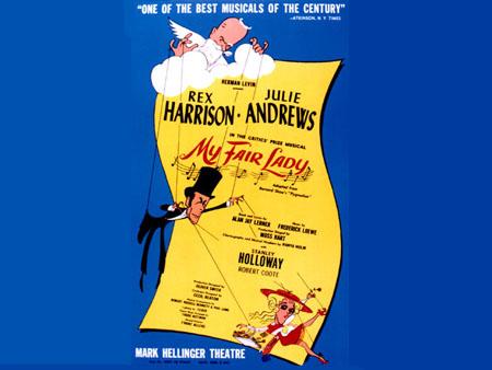 Мюзикл ''Моя прекрасная леди'' (''My Fair Lady'') композитора Фредерика Лоу (Frederick Loewe) и либреттиста Алана Джея Лернера (Alan Jay Lerner).